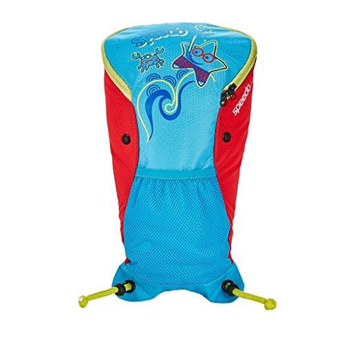Speedo Sea Squad Backpack Mochila, Infant Unisex, Azul/Rojo, Talla única