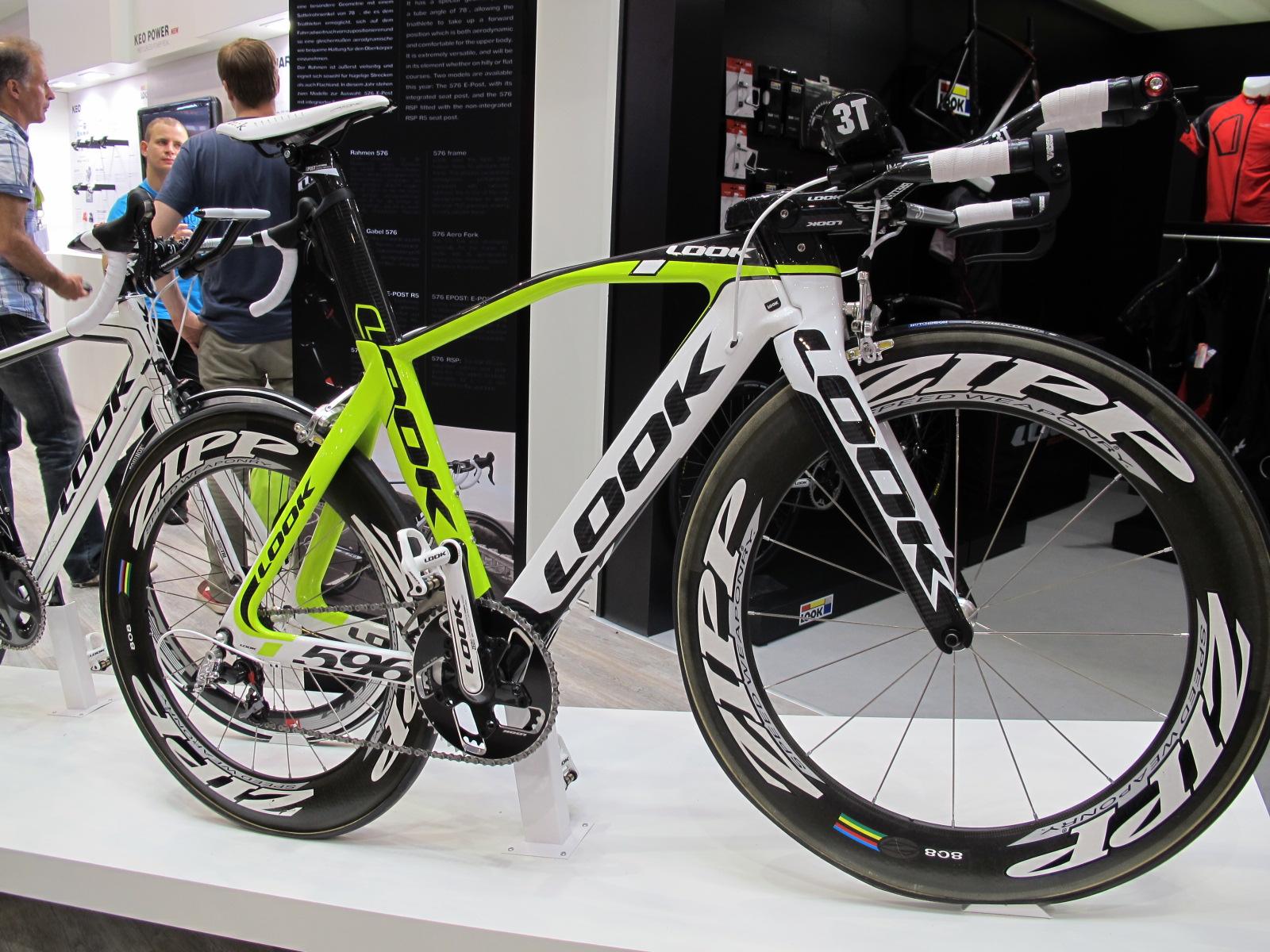 look 596 i-pack , la bicicleta de triatlon