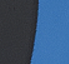 Black / Vivid Blue
